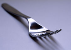 Fork. A fork on a white background Royalty Free Stock Photos