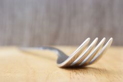 Fork background Stock Photography