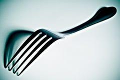 Fork del alto contraste Fotografía de archivo libre de regalías