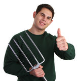 Fork guy Stock Photography