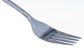 Fork isolated on white Royalty Free Stock Photos