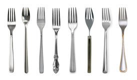 Fork  isolated on white. Fork isolated on white background Royalty Free Stock Image
