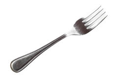Fork isolated on white background Stock Photography