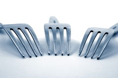 Fork in the kitchen Stock Image