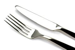 Fork and knife Stock Image