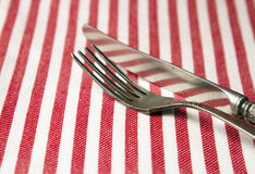 Fork and knife Royalty Free Stock Images