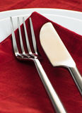 Fork and knife Royalty Free Stock Photography