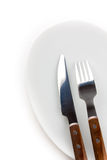 Fork and knife Stock Photography