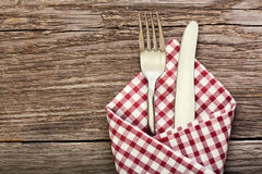Fork and knife as utensils Royalty Free Stock Images