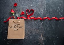 Valentines day meal background stock photos