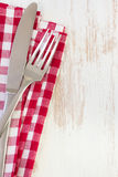Fork, knife Stock Images