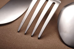 Fork knife spoon Stock Photo