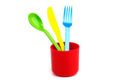 Fork, knife, spoon Stock Image
