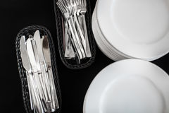 Fork ,knife and spoon Royalty Free Stock Image