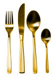Fork, Knife and Spoon Royalty Free Stock Images