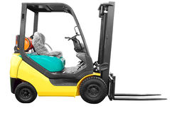 Fork-lift Stock Photography