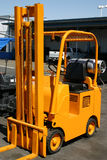 Fork lift. An old but reliable fork lift Royalty Free Stock Images