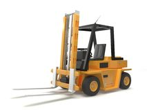 Fork lift vector illustration