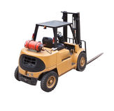 Fork lift truck Stock Images