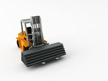 Fork-lift truck Stock Photos