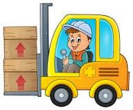 Free Fork Lift Truck Theme Image 1 Stock Photo - 60791770