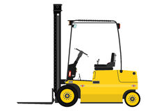 Fork lift truck Royalty Free Stock Images
