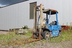 Fork lifter Stock Photography