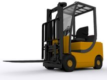 Fork lifter Royalty Free Stock Photography