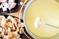 Fondue Stock Photo