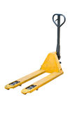 Fork Pallet Truck. Royalty Free Stock Image