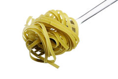 Fork with Pasta Stock Images