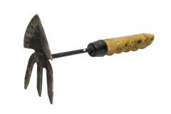 Fork que cultiva un huerto Imagenes de archivo