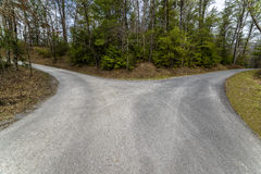 Fork In The Road Royalty Free Stock Images