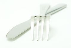 Fork with spoon Stock Images