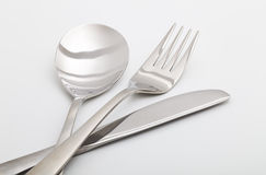 Fork and spoon Stock Image