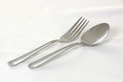 Fork & Spoon Royalty Free Stock Images