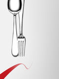 Fork and spoon Stock Photos
