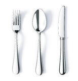 Fork spoon and knife stock illustration