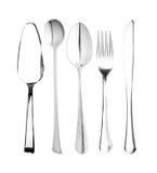 Fork, spoon,knife Stock Photos