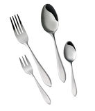 Fork and Spoon Set Stock Photos