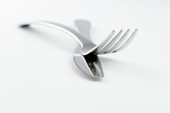 Fork and spoon Stock Images