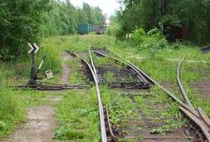 The old railway stock image