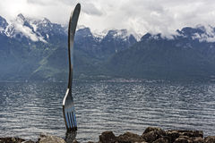 Fork in Vevey Stock Images