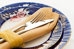Fork y cuchillo Imagen de archivo