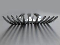 Forkes 2 Fotografía de archivo libre de regalías