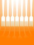 Forkes Fotografía de archivo libre de regalías