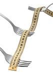 3 forkes Imagen de archivo libre de regalías