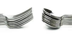 Forkes y cucharas Imagen de archivo