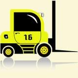 Forklift λεπτομερές Στοκ φωτογραφία με δικαίωμα ελεύθερης χρήσης