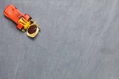 Forklift σκηνή φασολιών καφέ ανελκυστήρων Στοκ Φωτογραφία